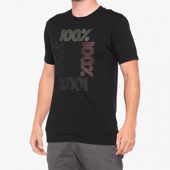 100% tričko ENCRYPTED BLACK