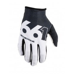 661 rukavice Raji Black White