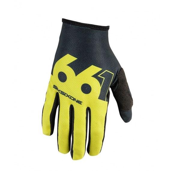 661 rukavice Comp Slice Black White