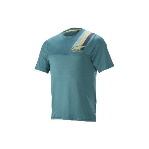 ALPINESTARS Dres Alps 4.0 SS MELANGE/Blue/RED/Gray