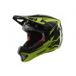 ALPINESTARS prilba Missile TECH Airlift MIPS Black Yellow Fluo