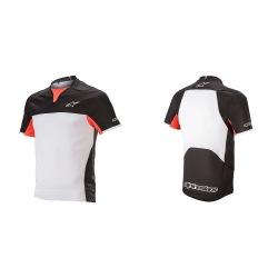 ALPINESTARS Dres Drop Pro S/S Black White