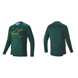 ALPINESTARS Dres Drop Pro L/S Emerald Atlantic