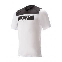 ALPINESTARS Dres Drop 4.0 S/S WHITE/BLACK