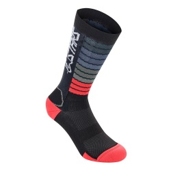 ALPINESTARS Ponožky Drop 19 Black Bright Red
