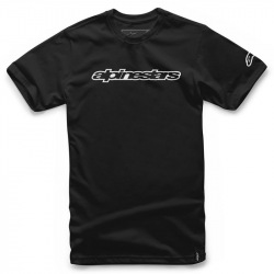 ALPINESTARS Tričko WORDMARK BLACK