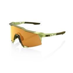 100% okuliare Speedcraft Soft Tact Coral čierne zrkadlové sklá