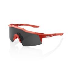 100% okuliare Speedcraft SL SOFT TACT Coral dymové sklá