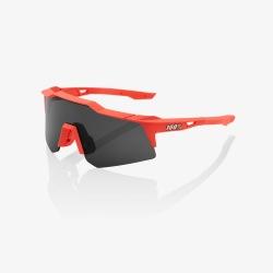 100% okuliare Speedcraft XS Matte White HiPer strieborné zrkadlové sklá