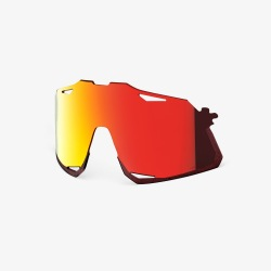 100% náhradné sklo HYPERCRAFT Hiper MULTILAYER červené zrkadlové sklá