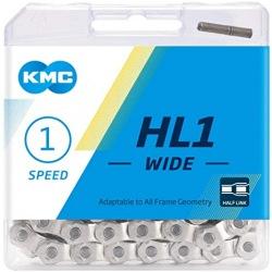 KMC reťaz HL 1-kolo strieborná