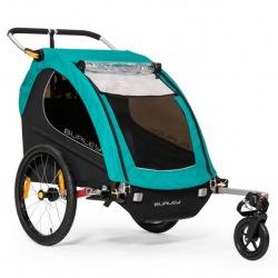 BURLEY detský vozík D'Lite Single Blue