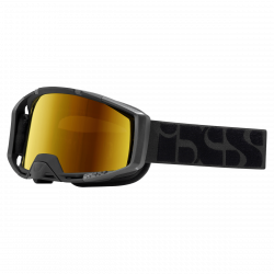 IXS okuliare Trigger Red oranžové zrkadlové sklá