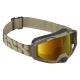 IXS okuliare Trigger Black zlaté zrkadlové sklá