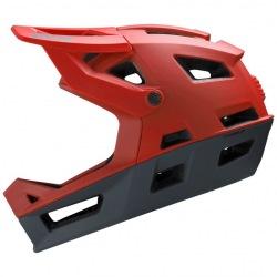 IXS prilba Trigger FF Fluo Red