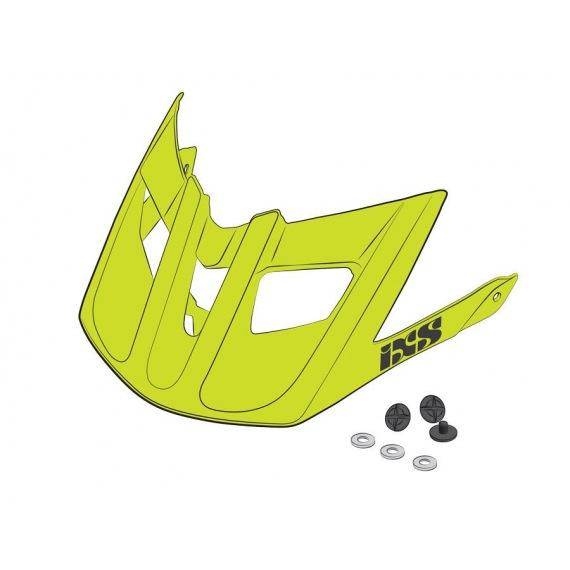 IXS náhradný šilt + šróby Trigger AM Reseda