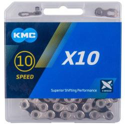 KMC reťaz X10 strieborno/čierna 10 kolo