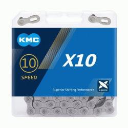 KMC reťaz X10 šedá 10 kolo