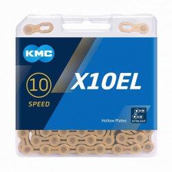 KMC reťaz X10 EL 10 kolo zlatá