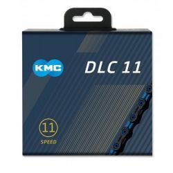 KMC reťaz X-11-SL DLC 11 kolo modro-čierna