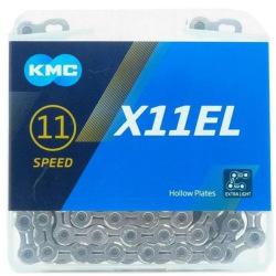 KMC reťaz X-11-E 11-EL 11 kolo strieborná