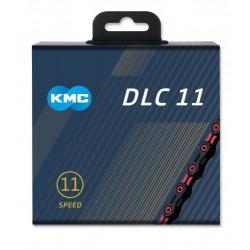 KMC reťaz X-11-SL DLC 11 kolo ružovo-čierna