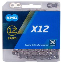 KMC reťaz X-12 12 kolo strieborná