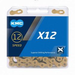 KMC reťaz X-12 12 kolo zlatá