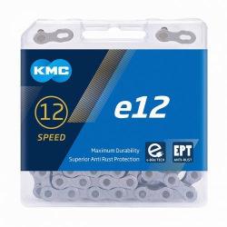 KMC reťaz E12 čierna 12 kolo