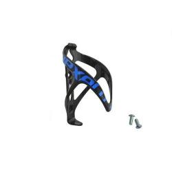 NEXELO košík na fľašu plast čierno/modrý
