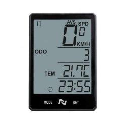 NEXELO tachometer CX20 bezdrôtový čierny