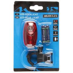 M-WAVE zadné svetlo Helios 1.1 USB