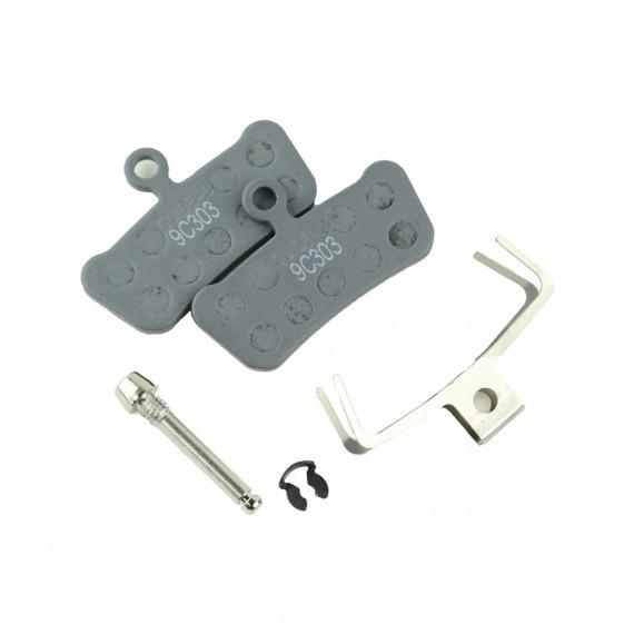SRAM brzdové platničky AM DB BRAKE PAD ORG/STL HRD/LVL QT