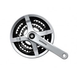 SHIMANO kľuky TY501 170mm 48-38-28z. 6-7-8-k. čierne