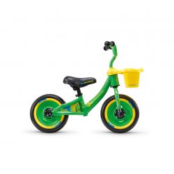 S'COOL odrážadlo Detské pedeX 3 in 1 zeleno / žlté