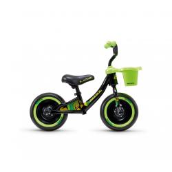 S'COOL odrážadlo Detské pedeX 3 in 1 čierno / zelené