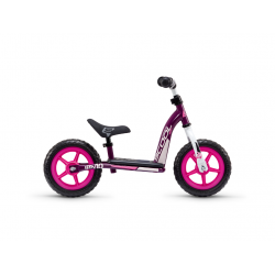 S'COOL odrážadlo Detské pedeX easy 10 fialovo / ružové