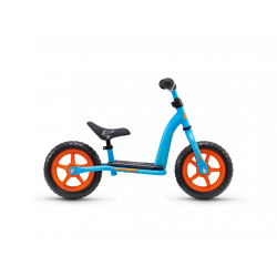 S'COOL odrážadlo Detské pedeX easy 10 modro / oranžové
