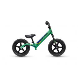 S'COOL odrážadlo Detské pedeX race light zeleno / čierne
