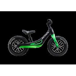 S'COOL odrážadlo Detské pedeX Magnesium čierno / zelené