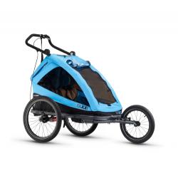 S'COOL Cyklovozík TaXXi Elite 2 modrý