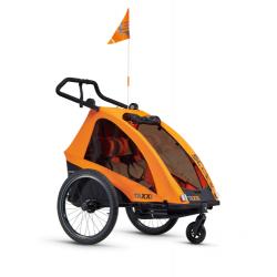S'COOL Cyklovozík TaXXi Pro 2 oranžový