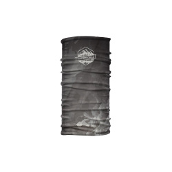 CTM nákrčník Wrap Marble badge čierna