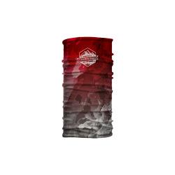 CTM nákrčník Wrap Marble badge červená