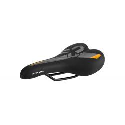 CTM sedlo Twister čierna/oranžová