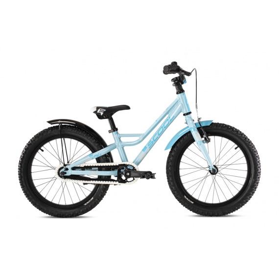 "S'COOL bicykel faXe 18"" svetlomodrý"