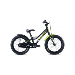"""S'COOL bicykel faXe 18"""" čierno / zelený"""