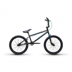 S'COOL bicykel XtriX 40 tmavozelený / zlatý
