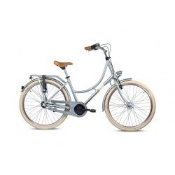 "S'COOL bicykel chiX 26"" retro metalický zelený"