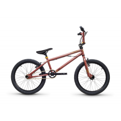"""S'COOL bicykel XtriX 20"""" hnedý / zlatý"""